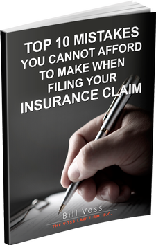 Top 10 Mistakes You Cannot Afford to Make When Filing Your Insurance Claim